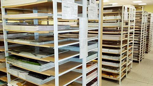 Uskladnění tisků připravených pro rámování